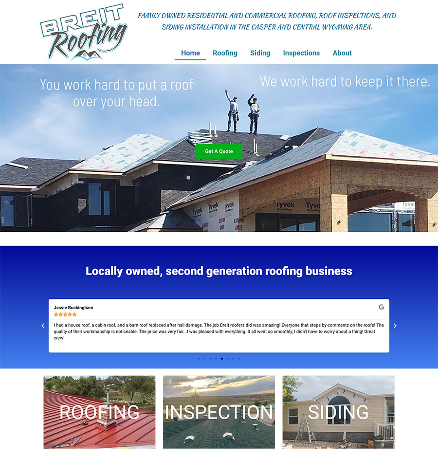 Wyoming Website Design Casper